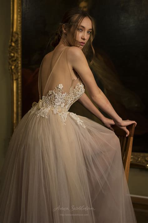 Modest wedding dress   Daniella Sexy wedding dress   Anna