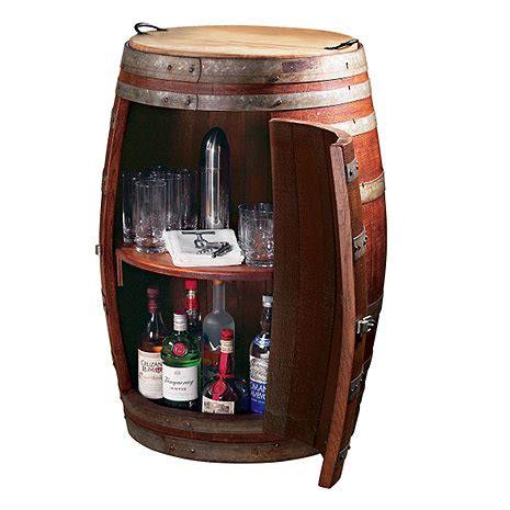 Vintage Wine Cabinet by Vintage Oak Barrel Wine Cabinet Wine Enthusiast