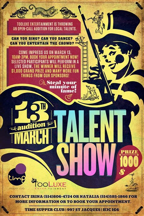 20 Talent Show Flyer Templates Printable Psd Ai Vector Eps Format Download Design Trends Free Printable Talent Show Flyer Template