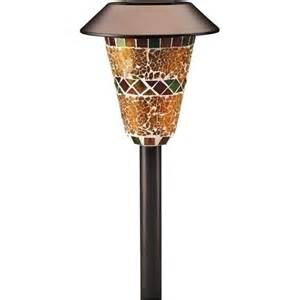 Solar Yard Lights Walmart - westinghouse 4 piece deluxe mosaic solar pathlight set by westinghouse