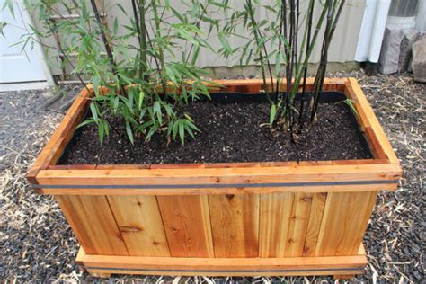 Bamboo Planter Boxes by Bamboo Planters