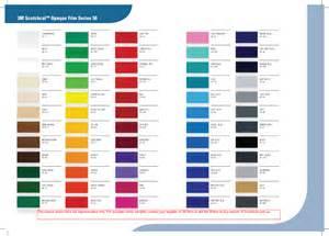 3m vinyl color chart vinyl color chart