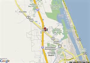 ormond florida map map of daytona days inn ormond interstate ormond