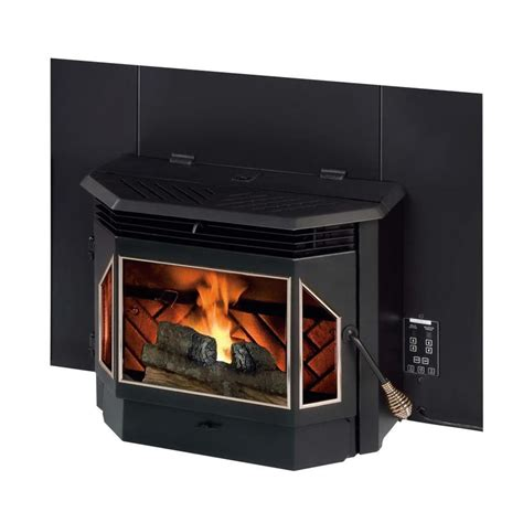 shop summers heat 2 000 sq ft pellet stove insert at lowes