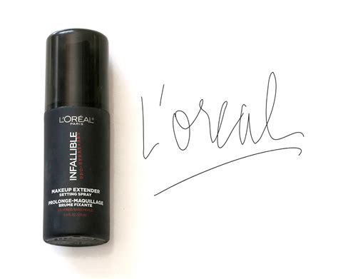 L Oreal Setting Spray l oreal infallible makeup extender setting spray reviews