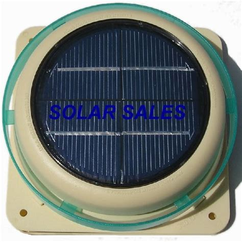 Solar Powered Shed Fan by Solar Roof Vent For Car Rv Shed Boat Greenhouse New Ebay