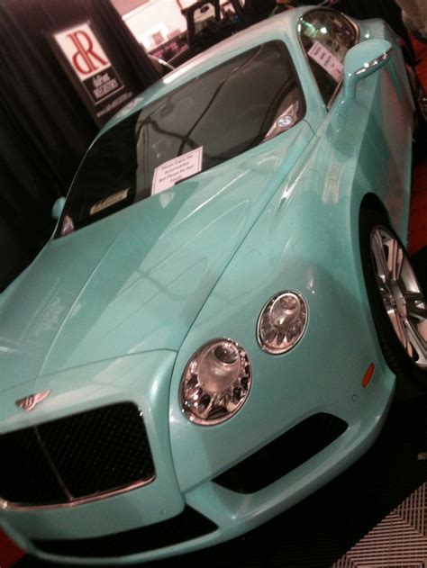 Baby Blue Bently Like In The Bachelorette Bentley