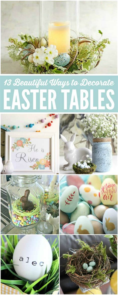 easter table decorations ideas 13 easy easter decorating ideas table decorations