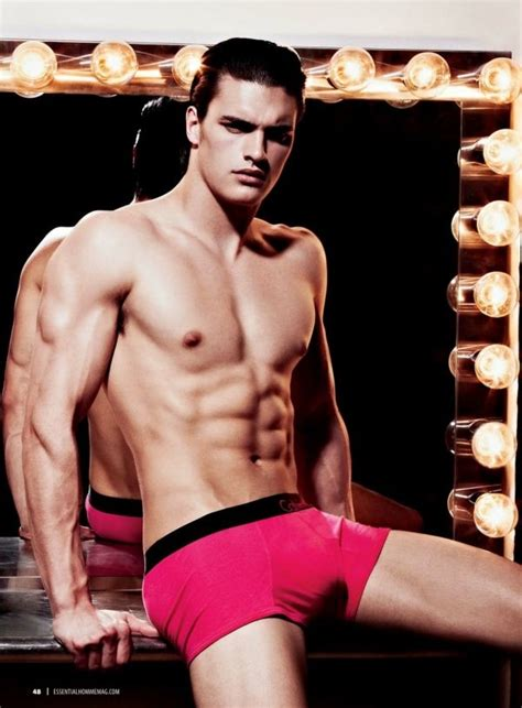 commercial model height super bowl commercial yummy matt terry calvin klein