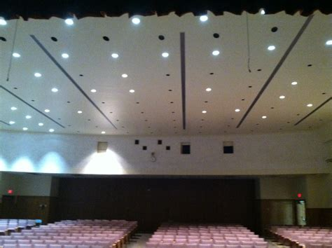 Auditorium Lighting Fixtures Auditorium Lighting Another Led Success Story Greentech Energy Services