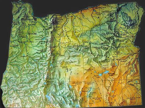 map for oregon 600 obryadii00 map of oregon and washington state