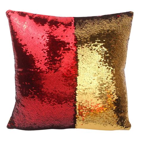new cushion covers for sofa new mermaid pillow cover glitter sequins throw cases car