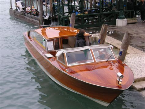 on taxi boat venetian water taxi plans boat design forums cool
