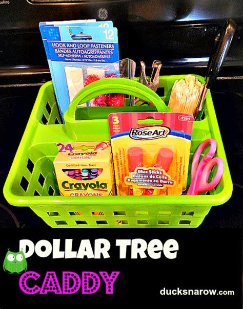 1 dollar supplies ducks n a row my new dollar tree preschool supplies caddy