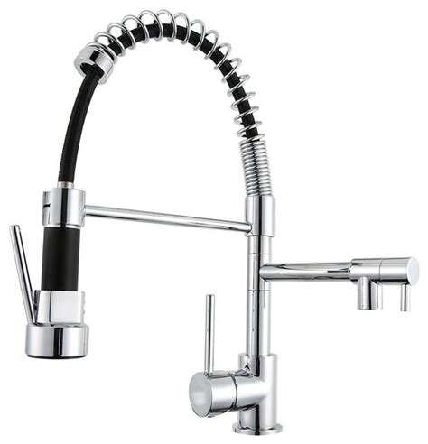 spring pull down kitchen faucet pull down spring swivel spout kitchen faucet