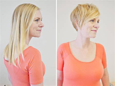 pixie cut before and after pixie hairstyle transformation before and after