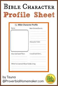Bible Character With Letter K Bible Character Profile Sheet Study Bible And Worksheets