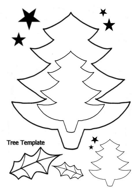 printable christmas tree a4 christmas tree pattern printable az coloring pages