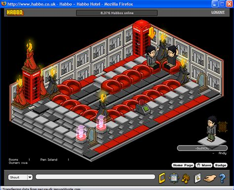 Wobble Lcd Clock Adds To Room by Wobble Squabble User Made Habbo Wiki The Wiki About