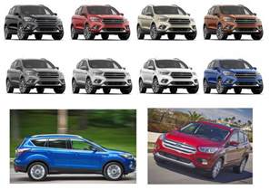ford escape colors 2018 ford escape titanium changes and redesign ford
