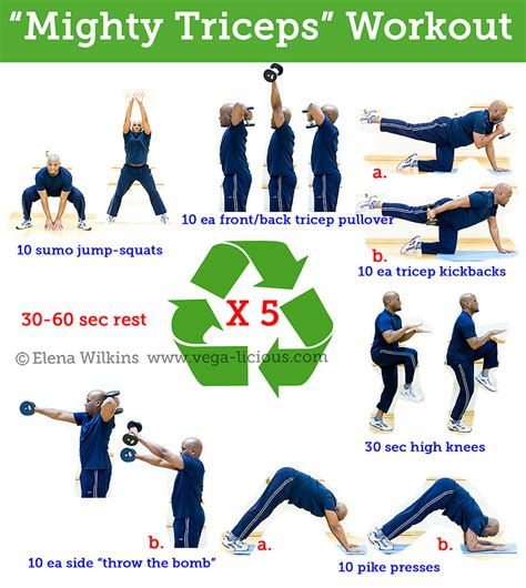 tricep exercises 187 health and fitness