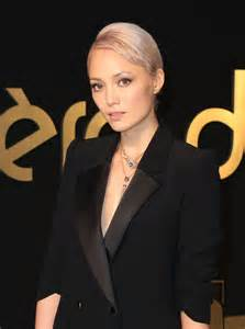 Cocktail Party Hairstyles - pom klementieff panthere de cartier watch launch in la