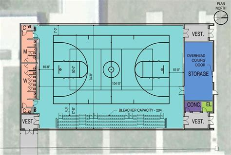 high school gymnasium floor plans school board picks firm for lafayette auxiliary gym the