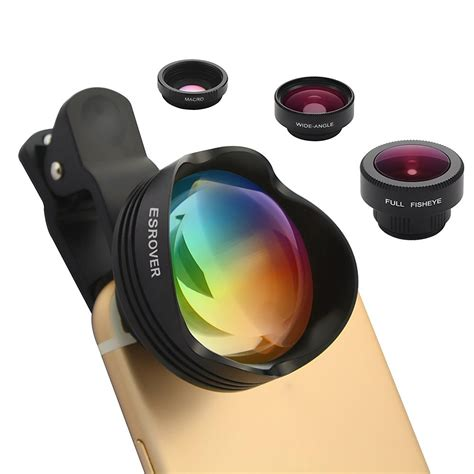 St 4in1 Plus Cardy No Kalung phone lens 180 176 fisheye lens 15x macro lens 0 65x 100 176 wide angle lens 3x optical zoom telephoto
