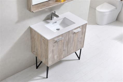 36 Modern Bathroom Vanity Bosco 36 Quot Modern Bathroom Vanity And Matching Mirror