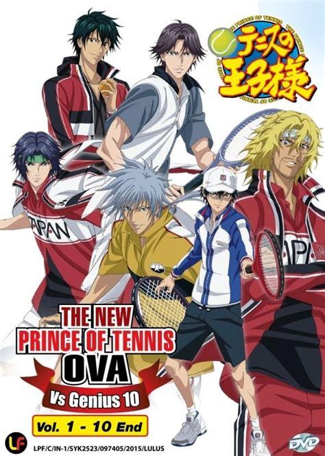 anime japanese or english dvd japanese anime new prince of tennis ova vs genius 10 v