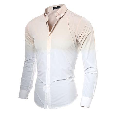 White Shirt Aliexpress by Sleeve Shirt Solid Print White Shirt Designer Oxford Dress Shirt Slim Fit