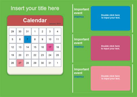 %name powerpoint business card template   Calendar PowerPoint   Free Calendar PowerPoint Templates