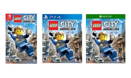 Kaset Ps4 Lego City Undercover lego city undercover groupon goods