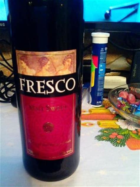 fresco wine fresco fresco semi sweet wine info
