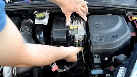 Battery For Peugeot 307 How To Remove Battery And Replace On Peugeot 307 308 And