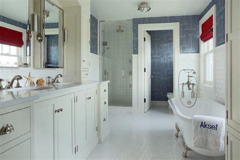 ralph lauren bathroom ideas nautical blueprint wallpaper design ideas