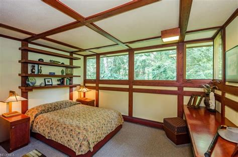 frank lloyd wright bedroom one of frank lloyd wright s ohio homes is back on the