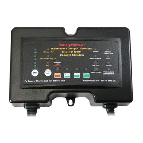 Charger Bolak Balik 2 4 Volt batteryminder 24v 1 2 4 charger desulfator 244cec1