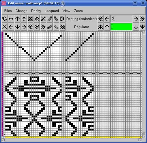 fabric pattern making software traditional thai fabric one extra warp