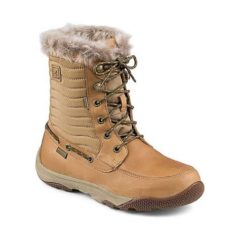 boat shoes for winter sperry top sider women s winter harbor boots tackledirect