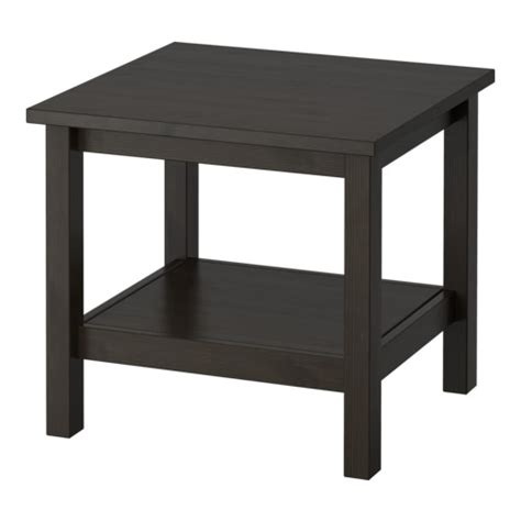 Ikea Side Table Hemnes Side Table Black Brown Ikea