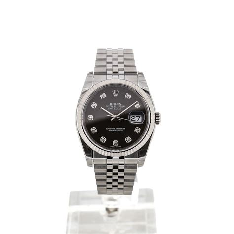 Rolex Oyster Datejust Rg Sepasang buy rolex oyster perpetual datejust 36mm automatic gemstone montredo