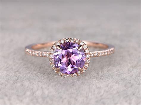 light amethyst engagement rings 21 ideas for a breathtaking amethyst wedding chic