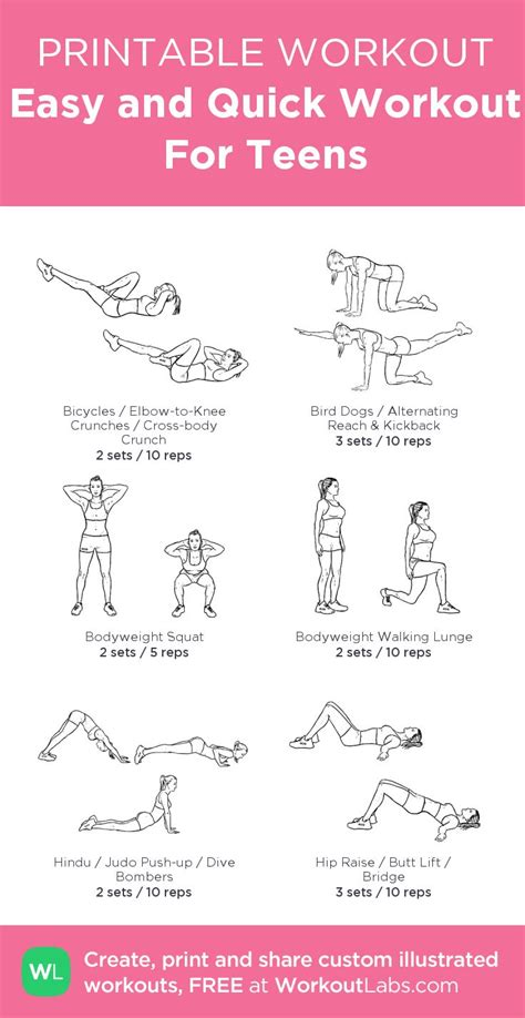 easy and workout for workouts