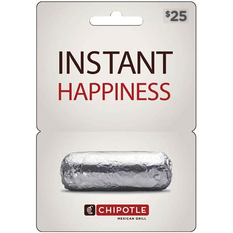 Chipotle Uk Gift Card - chipotle gift card entertainment dining gifts food