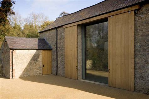 convert wood doors to glass william smalley architect france remodelista architect
