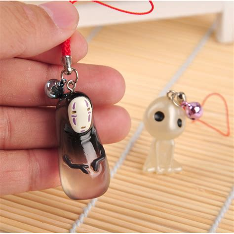 japanese charm cell phone spirited away faceless