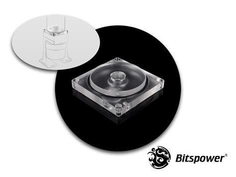 Top Tw 3134 bitspower dual single d5 top reservoir adaptor clear acrylic bp dsraac cl bitspower taiwan