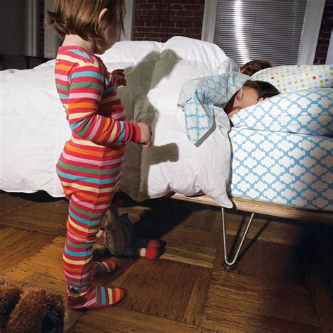 travel bed for toddler still in crib how to get your kid to sleep in own bed parenting