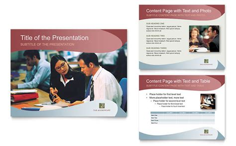accounting flyer templates tax accounting services powerpoint presentation template